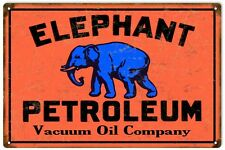 Elephant Petroleum Vacuum Oil Co., Motor Oil Sign