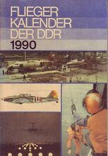Fliegerkalender der DDR 1990 (inkl. Militärtechnik/Flugzeuge/NVA/DDR)