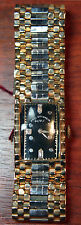 Antique Paul Ditisheim Art Deco Diamond Bracelet Watch in Two-Tone Gold