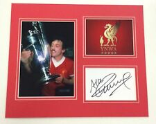 A 12 x 10 inch mounted display personally signed by Alan Kennedy of  Liverpool.