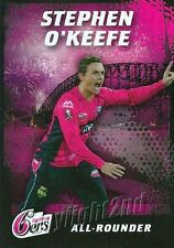 ✺Mint✺ 2016 2017 SYDNEY SIXERS Cricket Card STEPHEN O'KEEFE Club Issued