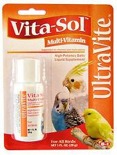 8 IN 1 - UltraCare Vitasol Multi-Vitamin for Birds - 1 fl. oz. (30 ml)
