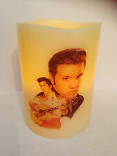 ELVIS PRESLEY ELECTRONIC FLAMELESS FLICKERING CANDLE