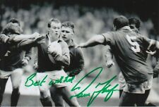 WALES HAND SIGNED PAUL THORBURN 6X4 PHOTO RUGBY UNION 9.