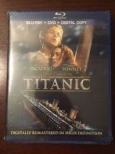 Titanic (Blu-ray/DVD, 2012, 4-Disc Set, iTunes Digital Copy)