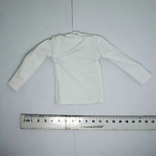 XB67-01 1/6 Scale HOT ZCWO - White Long Sleeve Shirt Mens Hommes Vol.009 TOYS