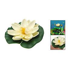 Aquarium Tank Foam Lotus Floating Decor Ornament PS