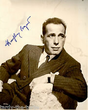 Humphrey Bogart Autograph Reprint  Casablanca The Maltese Falcon African Queen