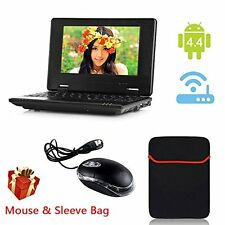 Android Mini laptop Notebook Black 4.2 4GB Storage 7 Inch Netbook Student Home