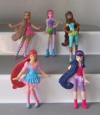 WINX CLUB DOLL figure lot FLORA BLOOM STELLA  AISHA  TECNA  McDonalds toy
