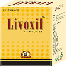 Liver Care Cleanse Detox Support Supplement Livoxil Herbal Capsules 50 Pills