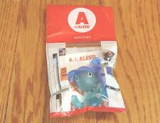 Alessi ~ ASG23 AZM ~ Boy with Spoon Magnet Bottle Light Blue ~ BRAND NEW in Pack