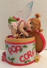 My Little Kitchen Popcorn Tin Fairie 2007 Enesco Santiago 4008302 Christmas