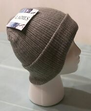BRAND NEW LADY'S WINTER HAT XETRA COLOR LIGHT GRAY WITH TAGS ONE SIZE FITS ALL