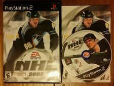 NHL 2002  (Sony PlayStation 2, 2001) - Complete PS2
