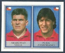 MERLIN-OFFICIAL ENGLAND 1998 WORLD CUP- #205-CHILE-MARCELO VEGA/IVAN ZAMORANO