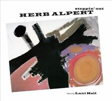 HERB ALPERT - Steppin' Out (featuring Lani Hall from Brasil '66) CD [B523]