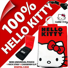 Hello Kitty Phone Case Pouch Bag for iPhone 3GS 4 4S 5 5S SE Samsung Galaxy S2