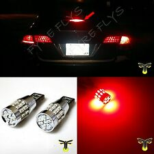 2x red 30-LED 3014 3rd brake light bulbs high mount upper center stop #R4x2