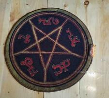 "SUPERNATURAL TV Show Official Licensed 24"" DEVIL'S TRAP Doormat RUG Sam & Dean"