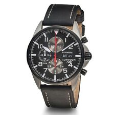 New Torgoen Swiss T36 Men's Swiss Valjoux 7750 Automatic Chronograph Pilot Watch