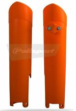 Orange KTM Fork Guard Protector SX - SXF EXC EXCF 125 150 250 350 450 2015 2016