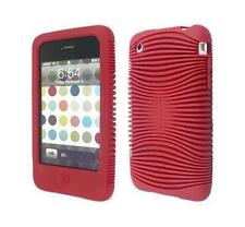 Belkin iPhone 3GS/3G Red Silicone/Rubber Grip Ergo Case/Cover/Skin/Sleeve F8Z460