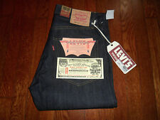 NEW $225 LEVIS 505-0217 LVC 1967 REDLINE SELVEDGE SANFORIZED BIG E JEANS 34x36