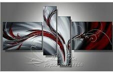 HH15 NO Frame 4pcs Hand painted Oil Painting on Canvas living room bedroom