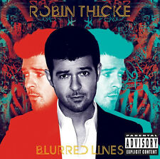 Blurred Lines by Robin Thicke [Audio CD] - 602537424788