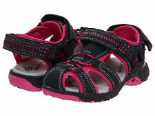 New Superfit Tia Shoes Navy Blue Pink Sandals Sneakers Closed-Toe Girl 2 youth