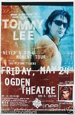 "TOMMY LEE 2003 ""NEVER A DULL MOMENT TOUR"" DENVER CONCERT POSTER - MOTLEY CRUE"