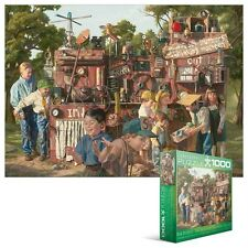 EUROGRAPHICS JIGSAW PUZZLE THE INCREDIBLE SHRINKING MACHINE BOB BYERLEY 1000 PCS