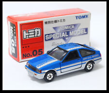 TOMICA SPECIAL MODEL 05 TOYOTA COROLLA LEVIN AE86 1/61 TOMY DIECAST CAR NEW