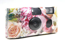 (Lot of 5) Disposable Cameras Wedding Camera One Time Single Use Flower Ex:2017