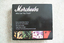 MORCHEEBA ~ Who Can You Trust ? Strictly Limited Edition 4 CD Box Set  ZEN009CD