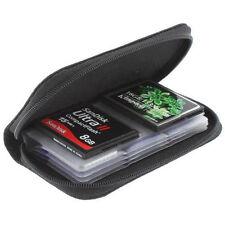 1pcs Bolsa Caja Estuche bolso Almacenamiento 22 Tarjetas SDHC XD Micro SD