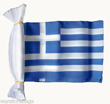 GREECE FLAG BUNTING 9 metres 30 flags ATHENS GREEK