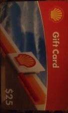 SHELL GAS CARD $25.00