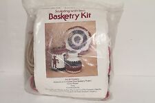 Better Homes & Gardens Craft Club - Sculpting with Yarn Basketry Kit Basket NEW