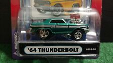 Muscle Machines 64 Ford Thunderbolt Dark Green 1:64  Diecast 1964  GS02-10