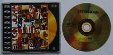 Elton John I Don't Wanna Go On Rare UK 1988 Gold CD-Video