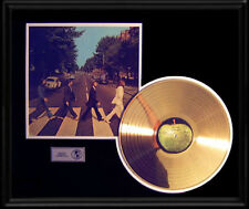 BEATLES ABBEY ROAD RARE GOLD  RECORD DISC LP ALBUM ORIGINAL VINTAGE RARE!
