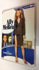 Ally McBeal serie televisiva stagione 3 vol. 2 DVD 4 episodi dura 180 minuti