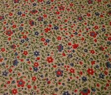 YORK WALLPAPER DOUBLE ROLLS MULTI-FLORAL PRINT. SPRING PANSIES/ RED PURPLE GREEN