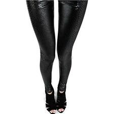 Hot Womens Leggings Snake Print Sexy Rock Skinny Slim Stretch Pants Trousers G77