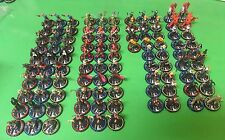 Heroclix Lot Of 100 CUR JLA Witchblade PD Judge Dredd JSA Multiple Levels