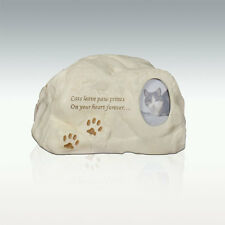 Perfect Memorials Cat Paws Stone Cremation Urn Cats Leave Paw Prints...