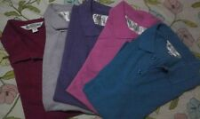 hs11: pre-loved 5 pcs FOLDED & HUNG Boys Mens Polo Shirt sz1 Tight Fit
