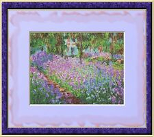 Monets Garden~Delica Bead Peyote Pattern Only